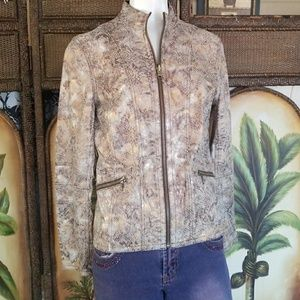 Jackets & Blazers - 2/$12 💖💖Faux leather jacket